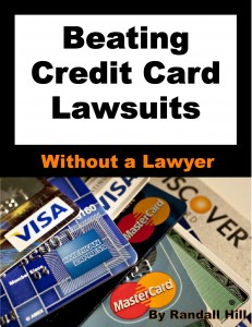 Beating Credit Card Lawsuits Book Cover